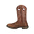 Durango Mens Brown Leather Saddle Western Work Boots