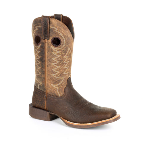 Durango Mens Flaxen Brown Leather Rebel Pro Cowboy Boots