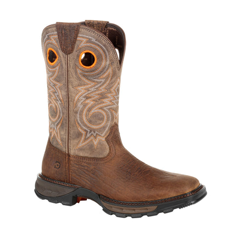 Durango Mens Bay Brown/Oat Leather Maverick XP Western Work Boots