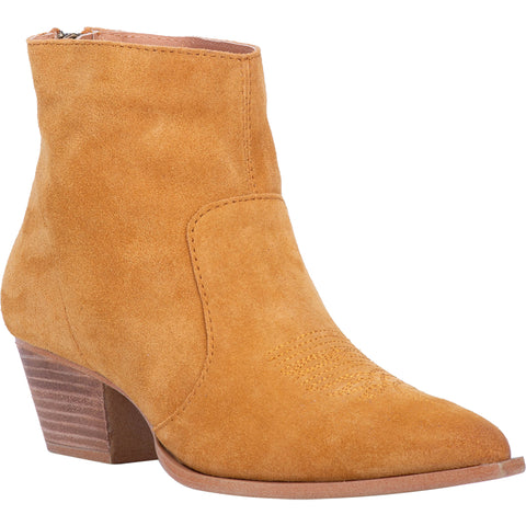 Dingo Womens Mustard Fashion Boots Leather J Toe