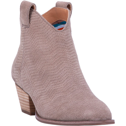 Dingo Womens Taupe Fashion Boots Leather Snip Toe