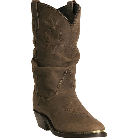 Dingo Womens Golden Leather Marlee 10in Round Toe Cowboy Boots