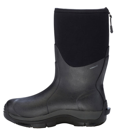 Dryshod Dungho Mid Mens Foam Black/Grey Farm Boots