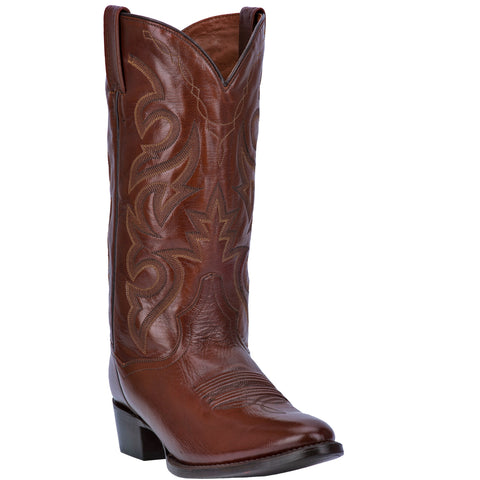 Dan Post Mens Milwaukee Cowboy Boots Leather Antique Tan