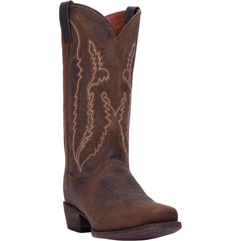 Dan Post Mens Renegade S Cowboy Boots Leather Bay Apache