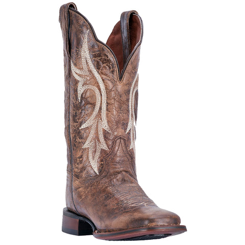 Dan Post Womens Brown Cowboy Boots Distressed Leather Cowboy Boots