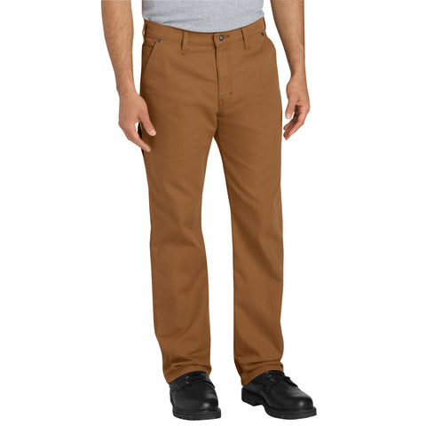 Dickies Mens Brown Flex Tough Max Duck Carpenter Pants