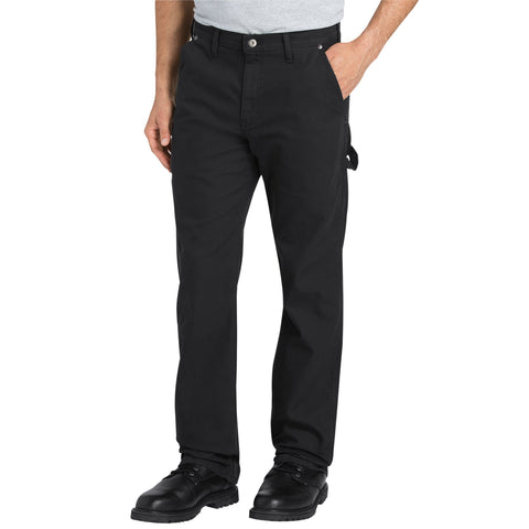 Dickies Mens Black Flex Tough Max Duck Carpenter Pants