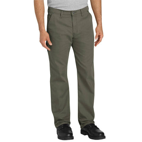 Dickies Mens Moss Flex Tough Max Duck Carpenter Pants