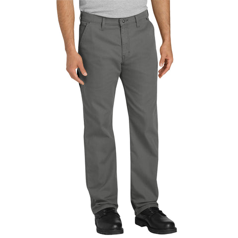 Dickies Mens Stonewash Slate Flex Tough Max Duck Carpenter Pants