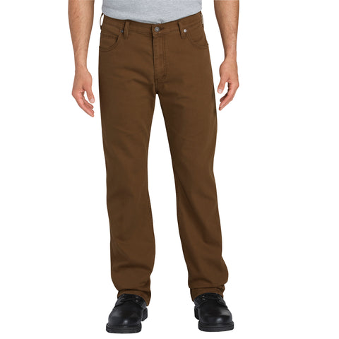 Dickies Mens Stonewash Timber Flex Tough Max Duck 5-Pocket Pants