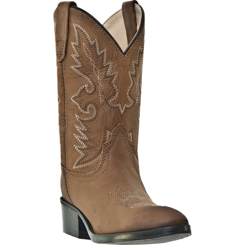Dan Post Cowboy Certified Childrens Tan Shane Leather Boots