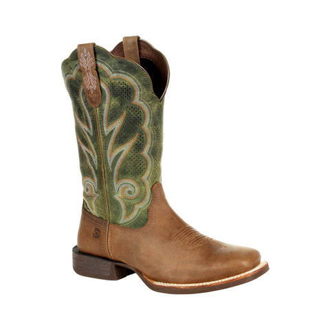 Durango Womens Dusty/Olive Leather Rebel Pro Ventilated Cowboy Boots