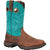 Lady Rebel by Durango Womens Turquoise Leather Bar None Cowboy Boots