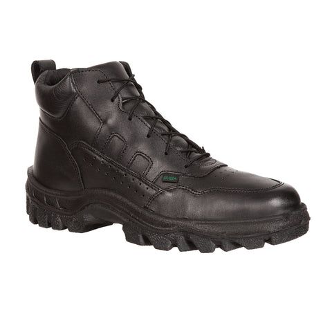 Rocky TMC Mens Black Leather Work Postal-Approved Sport Chukka Boots