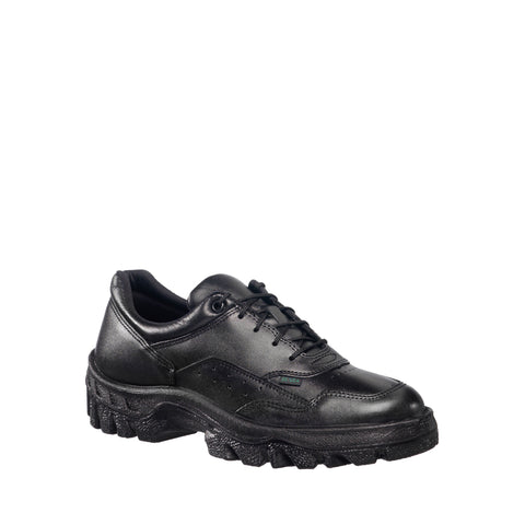 Rocky TMC Mens Black Leather Lace Up Postal-Approved Duty Oxford Shoes