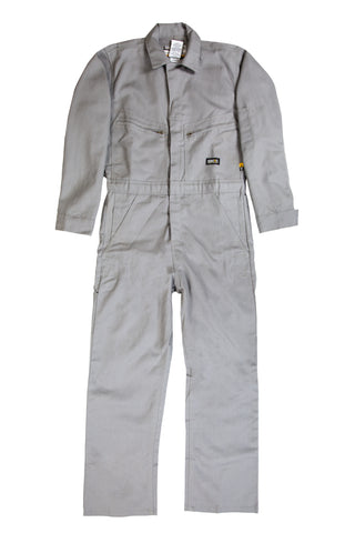 Berne Mens Grey Cotton Blend FR Deluxe Coverall