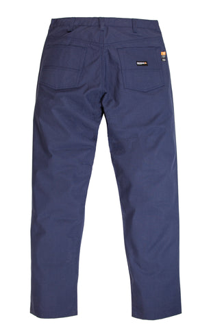 Berne Mens Navy Cotton Blend FR Ripstop Cargo Pant
