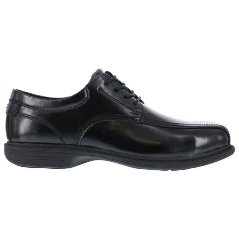 Florsheim Mens Black Leather Dress Lace Oxford Coronis Steel Toe