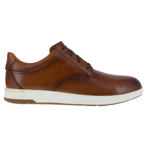 Florsheim Mens Cognac Leather Work Shoes Crossover Low Oxford ST