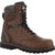 Georgia Brookville Mens Dark Brown Leather Waterproof 8in Work Boots