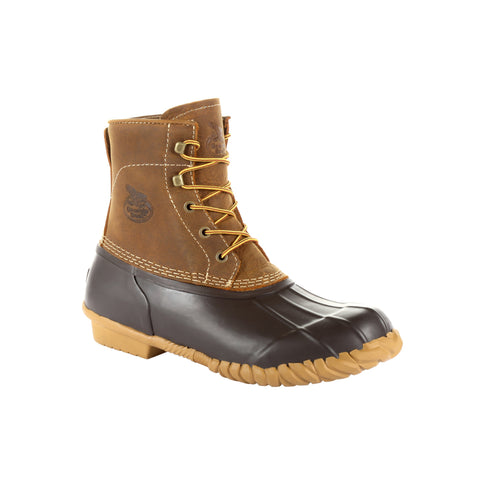 Georgia Unisex Brown Leather Marshland Duck Hunting Boots