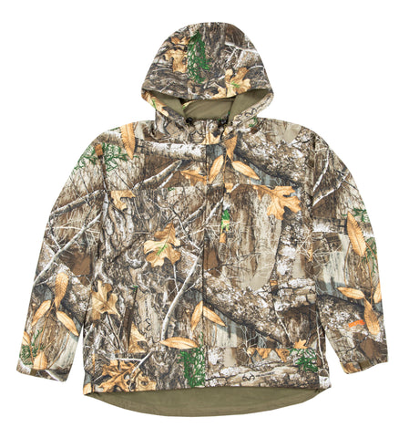 Berne Mens Realtree Edge Fleece Shedhorn Softshell Jacket