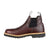 Georgia Mens Soggy Brown Leather WP High Romeo ST Ankle Boots
