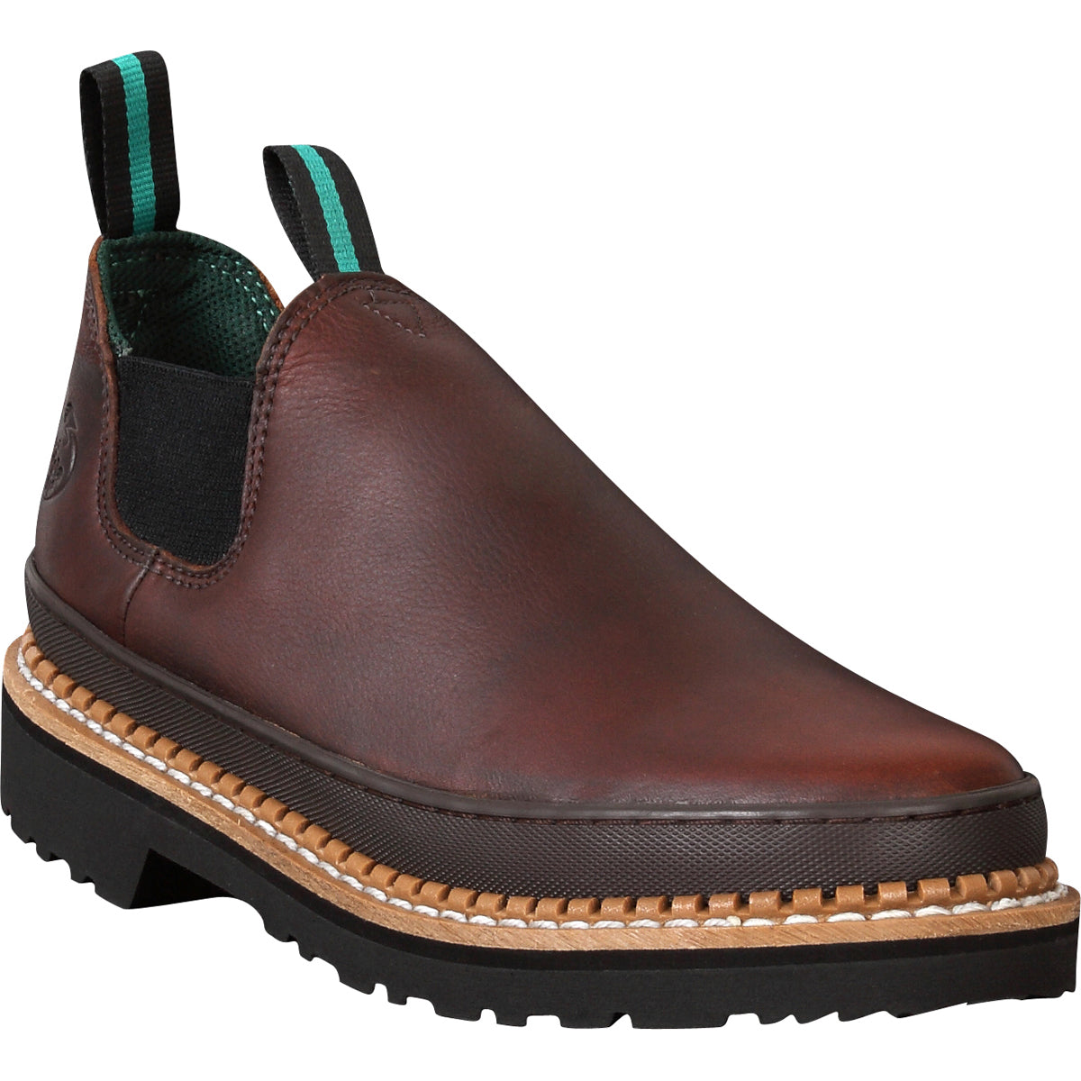 Georgia Giant Mens Soggy Brown Leather