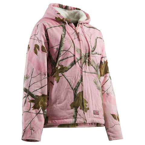 Berne Realtree Pink 100% Cotton Ladies Snow Drift Coat