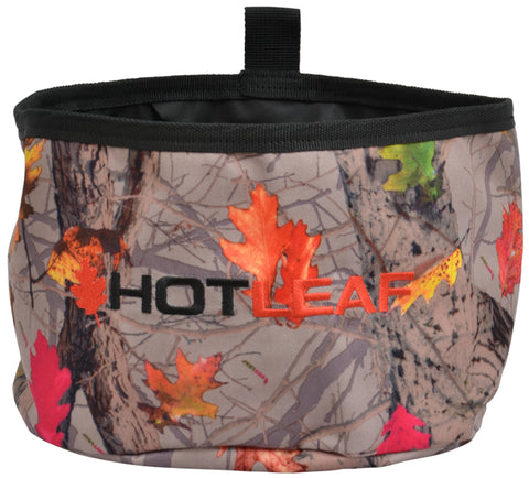Angel Ranch Hotleaf Camo Canvas Dog Bowl Collapsible