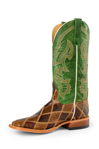 Horse Power by Anderson Bean Mens Leather Thunderstruck Cowboy Boots
