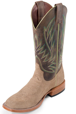 Horse Power by Anderson Bean Mens Brown Leather Sahara Cowboy Boots