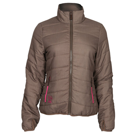 Rocky Womens Brown Polyester RAM Quilted 80G Jacket