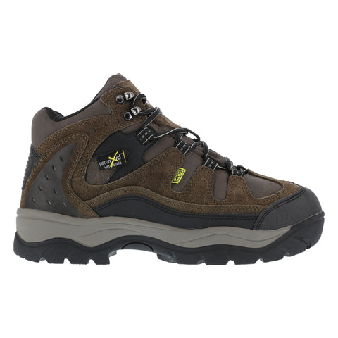 Iron Age Mens Brown Leather Met Guard Hiker Boots High Ridge Steel Toe