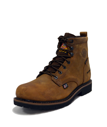 Justin EH ST WP Mens Wyoming Drywall Leather Work Boots