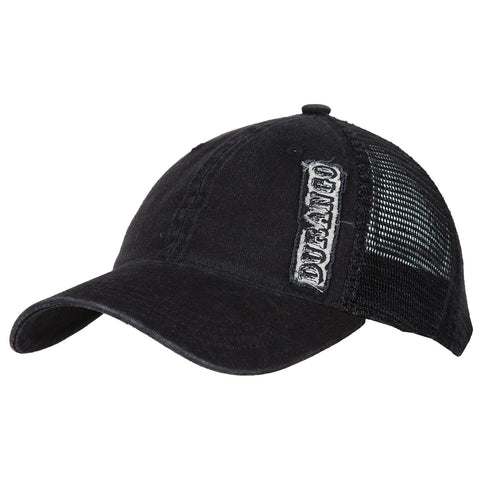 Durango Mens Black Mesh Embroidered Logo Trucker Hat