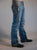 B Tuff Mens Medium Wash Cotton Denim Jeans Bootcut Camo Print