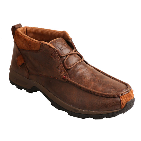 Twisted X Mens Brown Leather WP Hiker Boots