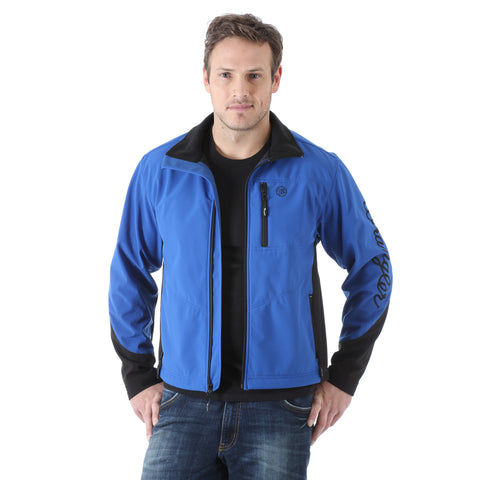 Wrangler Mens Blue Polyester Trail Jacket