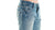 B Tuff Mens Blue Cotton Denim Jeans Worn Out Bootcut Kirk