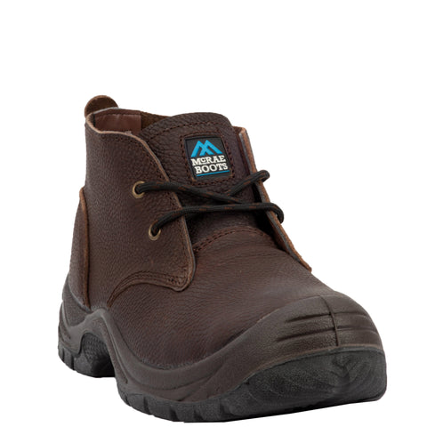 Mcrae Mens 5In St Chukka Work Boots Leather Brown