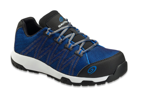 Nautilus Mens Blue/Black Mesh Comp Toe 1344 Accelerator Work Shoes