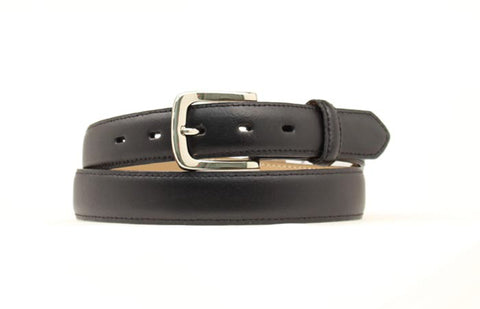 Nocona Black Leather Mens Smooth Belt 44