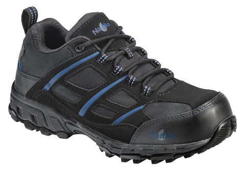 Nautilus Mens Nano Tech Comp To ESD Athletic M Black Mesh Shoes