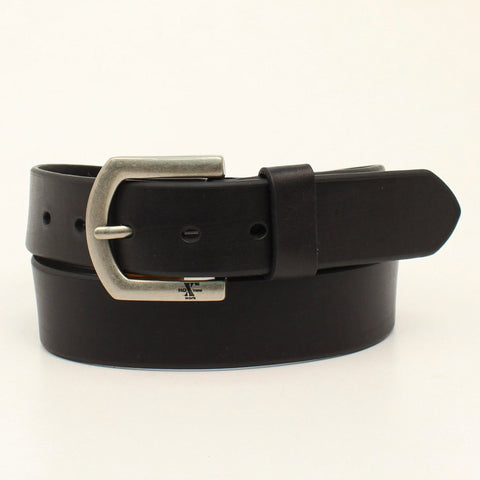 Nocona Black Leather Mens Xtreme Durable Belt 40