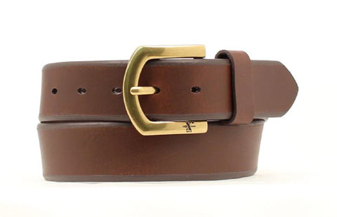 Nocona Brown Leather Mens Xtreme Durable Belt 34