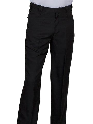 Scully Mens Black Polyester Trousers