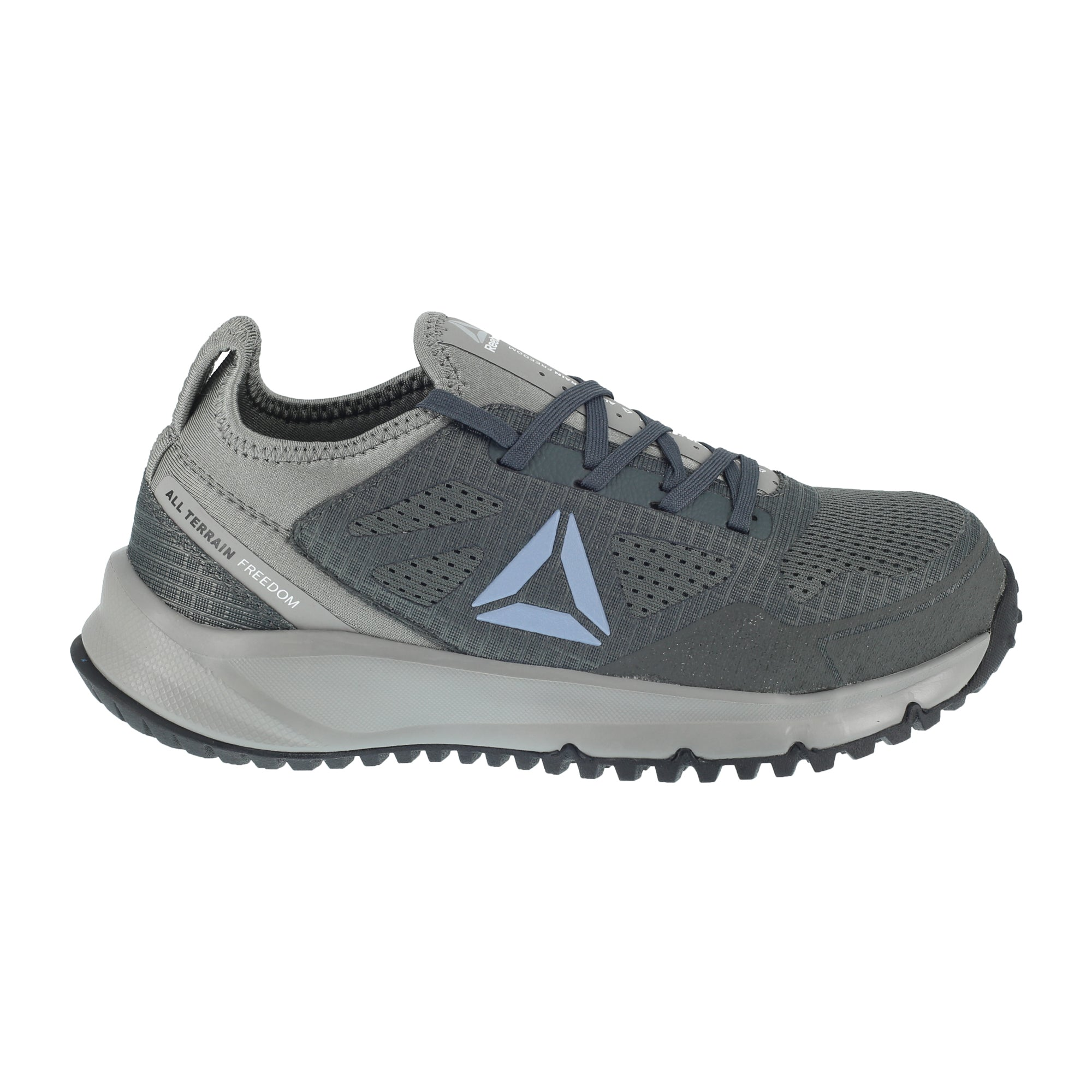 Reebok Work All Terrain Work RB094 Steel Toe Work Shoe(Women's) -Flint Grey/Black Mesh/Ripstop Fabric Buy Cheap Exclusive Sale Release Dates Sale The Cheapest Manchester Sale Online Cheap Price Top Quality Z3QfNQN6O
