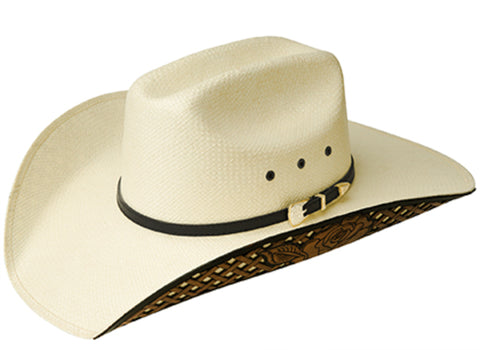 Bailey Matlyn Natural Womens Straw Western Hat Renegade Cheyenne